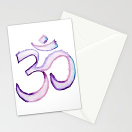 OM - Watercolor Markers Stationery Cards