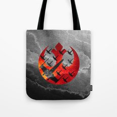 Star Wars Wraith Squadron in the Clouds Tote Bag