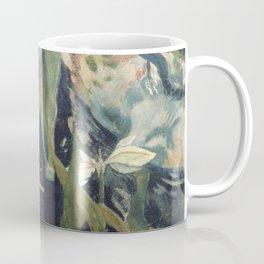 The White Horse by Paul Gauguin Coffee Mug