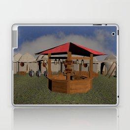 Medieval Market Tavern Laptop & iPad Skin