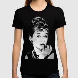 Miss Golightly - black T-shirt