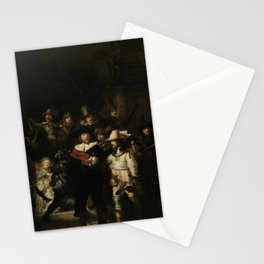 The Night Watch - Rembrandt van Rijn Stationery Cards