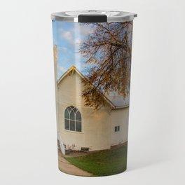 St. Leopold's Catholic Church, Almont, North Dakota Travel Mug