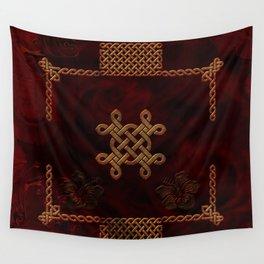 Celtic knote, vintage design Wall Tapestry