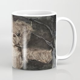 trapped teddy bear Coffee Mug