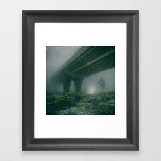 GHOST AF (everyday 01.25.17) Framed Art Print