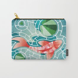 Koi Fish and Lily Pads  Carry-All Pouch