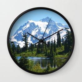 Mt. Shuksan Wall Clock