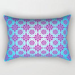 Pink Blotch Pattern by Xen™ Rectangular Pillow