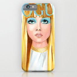 blonde ambition cover iPhone Case