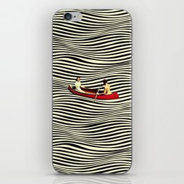 Illusionary Boat Ride iPhone Skin