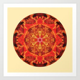 Mandalas from the Heart of Transformation 7 Art Print