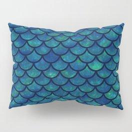 Mermaid scales iridescent sparkle Pillow Sham