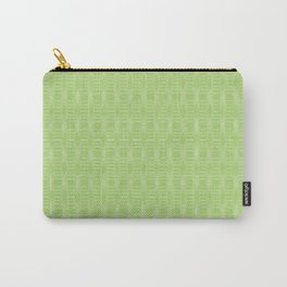 hopscotch-hex bright green Carry-All Pouch