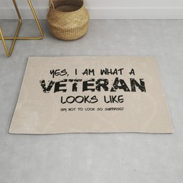 This is what a Veteran Looks Like Rug