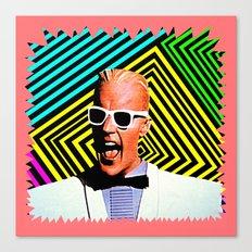 MAX HEADROOM  |  80's Inspiration Canvas Print