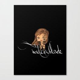 Chibi Witchblade Canvas Print