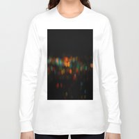 bokeh Long Sleeve T-shirts featuring Bokeh by Fox Industries