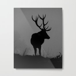 Wildlife, Monarch Of The Park Metal Print