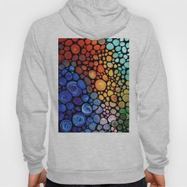 Abstract 1 - Beautiful Colorful Mosaic Art by Sharon Cummings Hoody