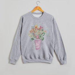 Smoothie & Bouquet Crewneck Sweatshirt