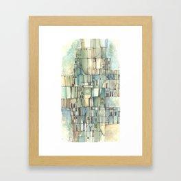 Urbe fragmentos N° 6 (City fragments N° 6) Framed Art Print