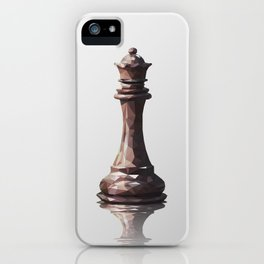 queen low poly iPhone Case