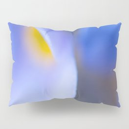 Forget-me-not Wildflower Extreme Macro #decor #society #buyart Pillow Sham