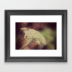 Winter wild Framed Art Print