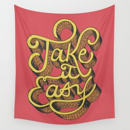 Note to Self: Take it Easy Wall Tapestry