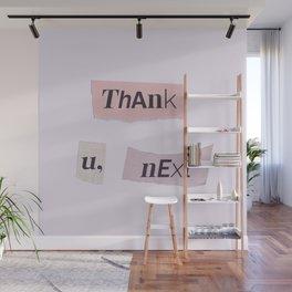 thank you next - Ariana - white Wall Mural