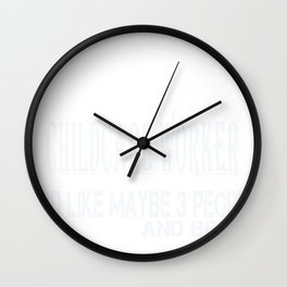 Untitled-1_Childcare Worker Wall Clock