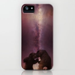 Battle for the Milky Way iPhone Case