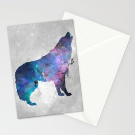 Galaxy Series (Wolf) Stationery Cards