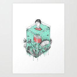 Earth Soup Art Print