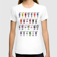 transformers T-shirts featuring Transformers Alphabet by PixelPower