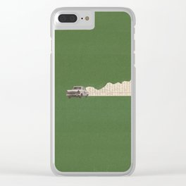 Torn Around - Racing Car Clear iPhone Case