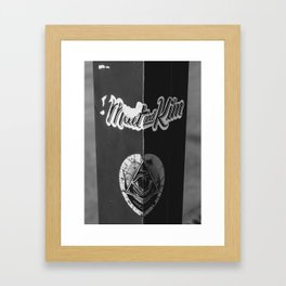 Music on the Streets Framed Art Print