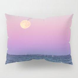 Full Moon on Blue Hour Pillow Sham