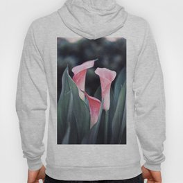 Pink Calla Flowers Hoody