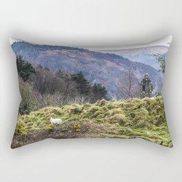 Travel to Ireland: Sheep Hill Rectangular Pillow