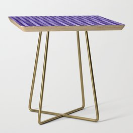 Polka Dot Party in Blue and White Side Table