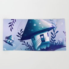 Magic Mush Room - Pattern Beach Towel