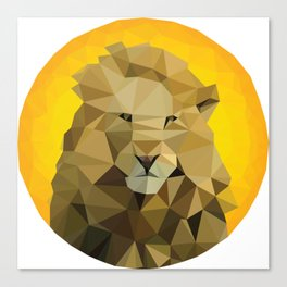 ♥ SAVE THE LIONS ♥ Canvas Print