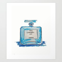 NO.5 (오 )KOREAN Art Print