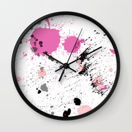 pure culture III Wall Clock