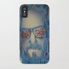 Blue Dude : The Big Lebowski  Slim Case iPhone X