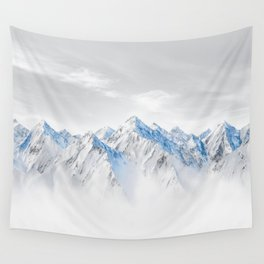 Snow Capped Mountains Wall Tapestry