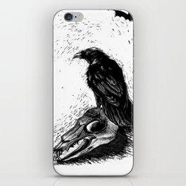 Halloween Raven iPhone Skin