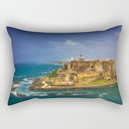 Fortress Rectangular Pillow